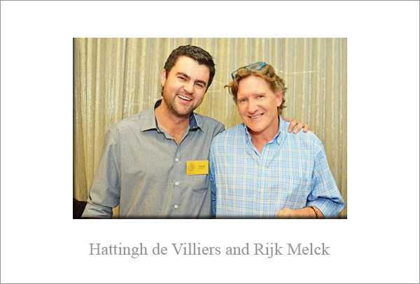 Interview with Hattingh de Villiers